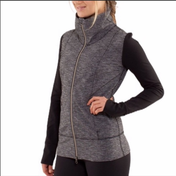 LULULEMON Herringbone Daily Yoga Jacket